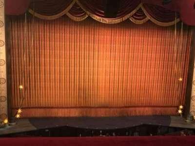 Imperial Theatre, vak: Center Front Mezzanine, rij: A, stoel: 3