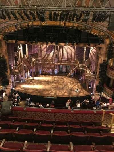 Richard Rodgers Theatre, vak: Mezz, rij: E, stoel: 105