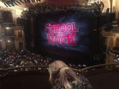 Winter Garden Theatre, vak: MezzR, rij: C, stoel: 18