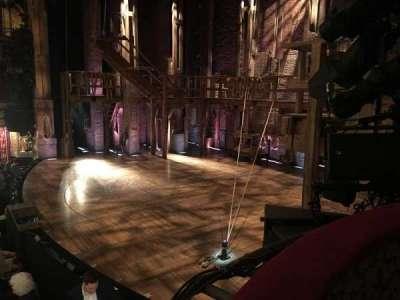 Richard Rodgers Theatre, vak: Box C, rij: 1, stoel: 2