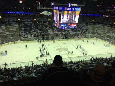 Nationwide Arena, vak: 218, rij: E, stoel: 15