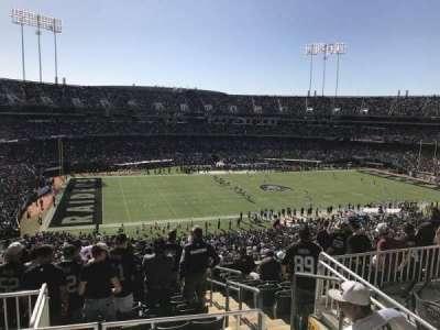 Oakland Alameda Coliseum, vak: 247, rij: 10, stoel: 4