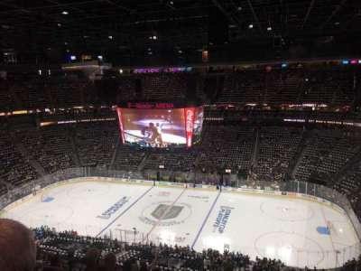 T-Mobile Arena, vak: 225, rij: N, stoel: 8