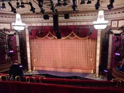Imperial Theatre, vak: Rear Mezzanine, rij: D, stoel: 1