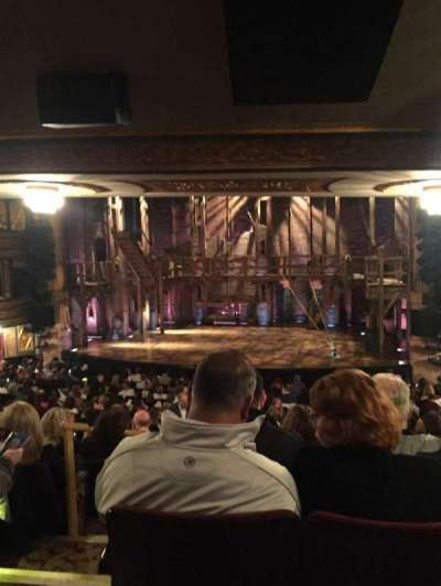 Richard Rodgers Theatre, vak: Orcheastra, rij: T, stoel: 4
