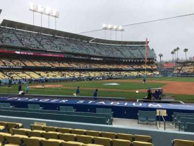 Dodger Stadium, vak: 22FD, rij: H, stoel: 8
