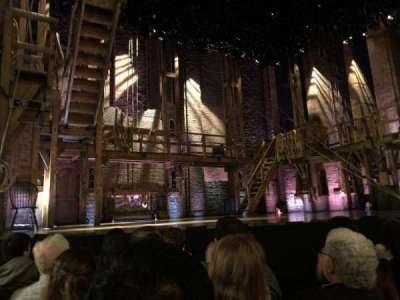 Richard Rodgers Theatre, vak: ORCH, rij: D, stoel: 7