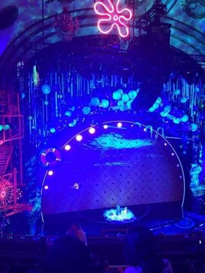 Palace Theatre (Broadway), vak: Mezz, rij: G, stoel: 5