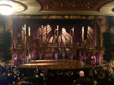 Richard Rodgers Theatre, vak: Orchestra, rij: R, stoel: 108