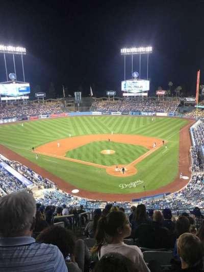Dodger Stadium, vak: 3RS, rij: N, stoel: 22