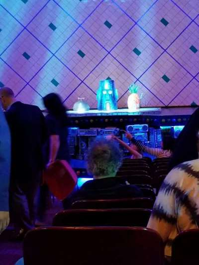 Palace Theatre (Broadway), vak: Orch, rij: R, stoel: 102