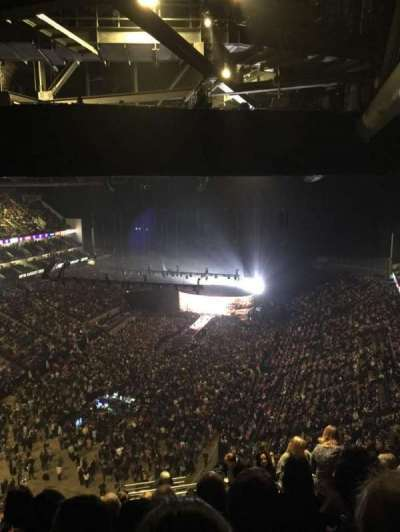 The O2 Arena, vak: 414, rij: S, stoel: 767