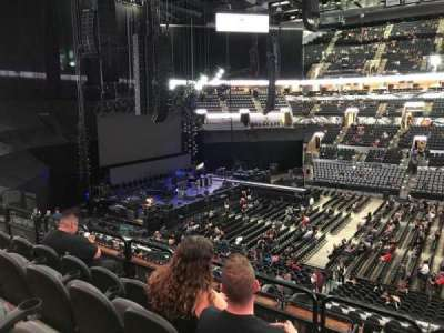 AT&T Center, vak: 107, rij: 32, stoel: 9