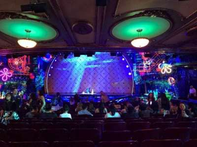 Palace Theatre (Broadway), vak: ORCH, rij: X, stoel: 112