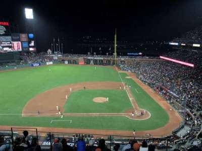 At&T Park, vak: 321, stoel: 9