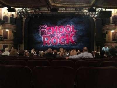 Winter Garden Theatre, vak: Orchestra, rij: U, stoel: 107