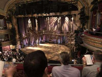 Richard Rodgers Theatre, vak: Mezzanine, rij: C, stoel: 22