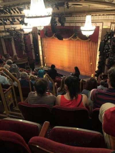 Imperial Theatre, vak: RMezz, rij: G, stoel: 4