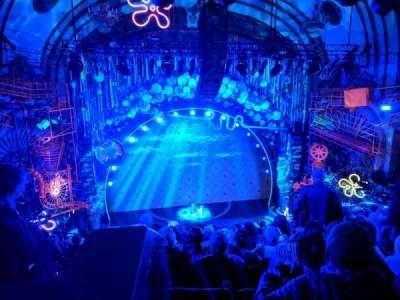 Palace Theatre (Broadway), vak: RMEZZ C, rij: K, stoel: 113