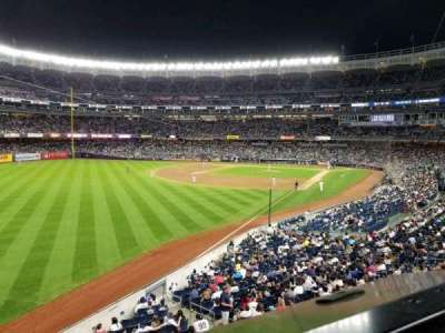 Yankee Stadium, vak: 232A, rij: 1, stoel: 3
