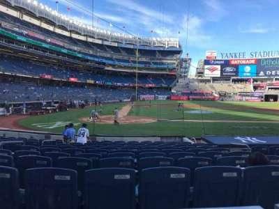 Yankee Stadium, vak: 117b, rij: 1, stoel: 5