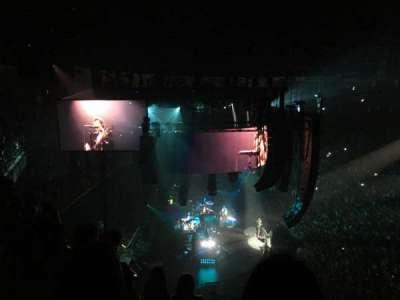 Infinite Energy Arena, vak: 315, rij: E, stoel: 5