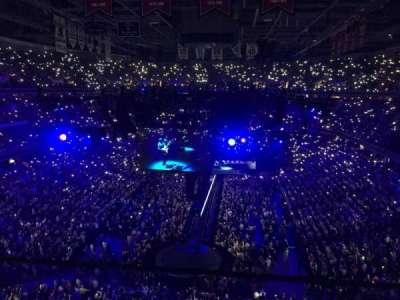 Capital One Arena, vak: 409, rij: A, stoel: 9