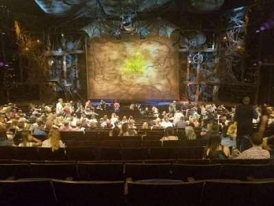 Gershwin Theatre, vak: Orchestra, rij: V, stoel: 115
