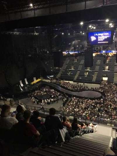 AccorHotels Arena, vak: P, rij: 93, stoel: 10
