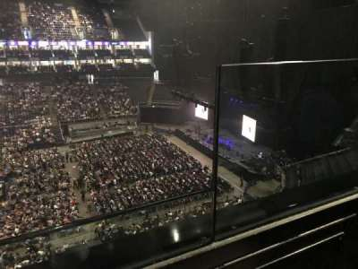 The O2 Arena, vak: 420, rij: 1, stoel: 931