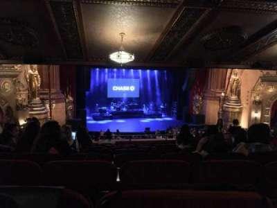 Beacon Theatre, vak: LOGE1, rij: K, stoel: 3