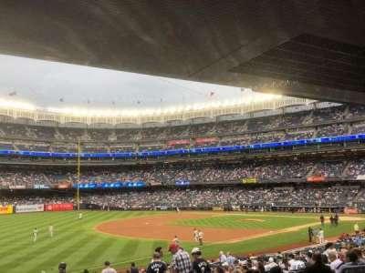 Yankee Stadium, vak: 129, rij: 29, stoel: 9