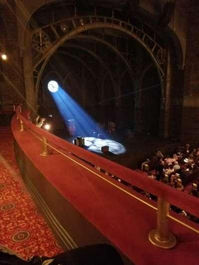 Lyric Theatre, vak: Dress Circle Left, rij: A, stoel: 27