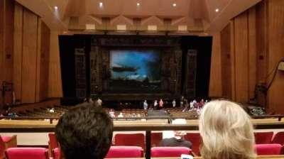 Keller Auditorium, vak: 1Balc, rij: B, stoel: 8