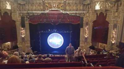 Oriental Theatre, vak: Balc C, rij: M, stoel: 309