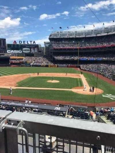 Yankee Stadium, vak: 223, rij: 1, stoel: 1