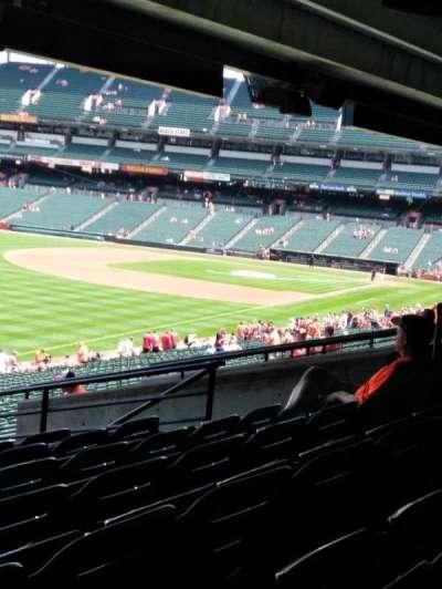 Oriole Park at Camden Yards, vak: 71, rij: 9, stoel: 12