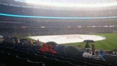 Yankee Stadium, vak: 111, rij: 25, stoel: 5