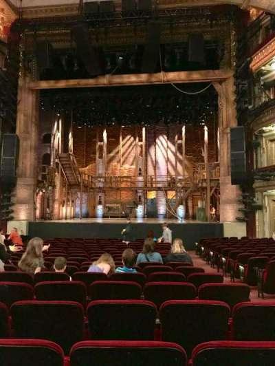 CIBC Theatre, vak: Orchestra C, rij: T, stoel: 113