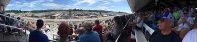 New Hampshire Motor Speedway, vak: CAA, rij: 46, stoel: 21
