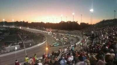Richmond International Raceway, vak: Dogwood I, rij: 9, stoel: 24
