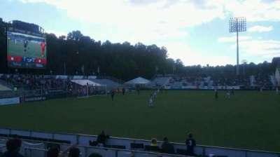 WakeMed Soccer Park, vak: 304, rij: k, stoel: 25