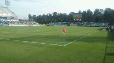 WakeMed Soccer Park, vak: 407, rij: 1, stoel: 5