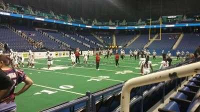 Greensboro Coliseum, vak: 106, rij: BB, stoel: 11