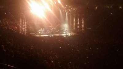 PNC Arena, vak: 130, rij: Z, stoel: 5