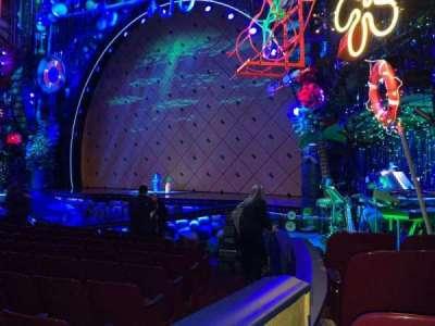 Palace Theatre (Broadway), vak: Orch, rij: L, stoel: 4