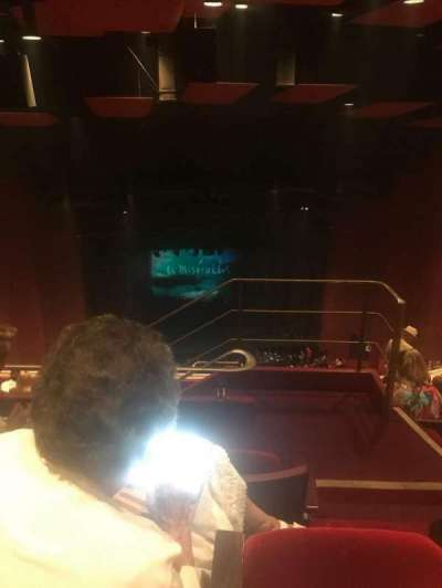San Diego Civic Theatre, vak: RBLCNY, rij: X, stoel: 17
