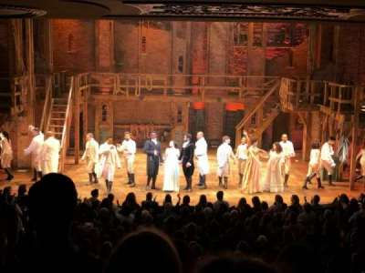 Richard Rodgers Theatre, vak: Orch, rij: S, stoel: 108