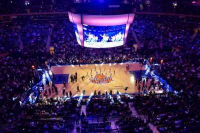 Madison Square Garden, vak: 313, rij: 1, stoel: 4