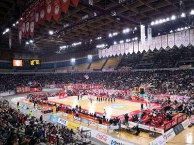 Peace and Friendship Stadium, vak: 204, rij: 11, stoel: 14